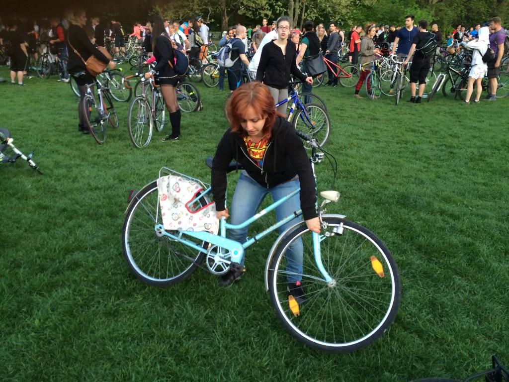 I bike BP bringaemelés - egyenes háááát! :)