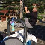 edzés nyaralás alatt is